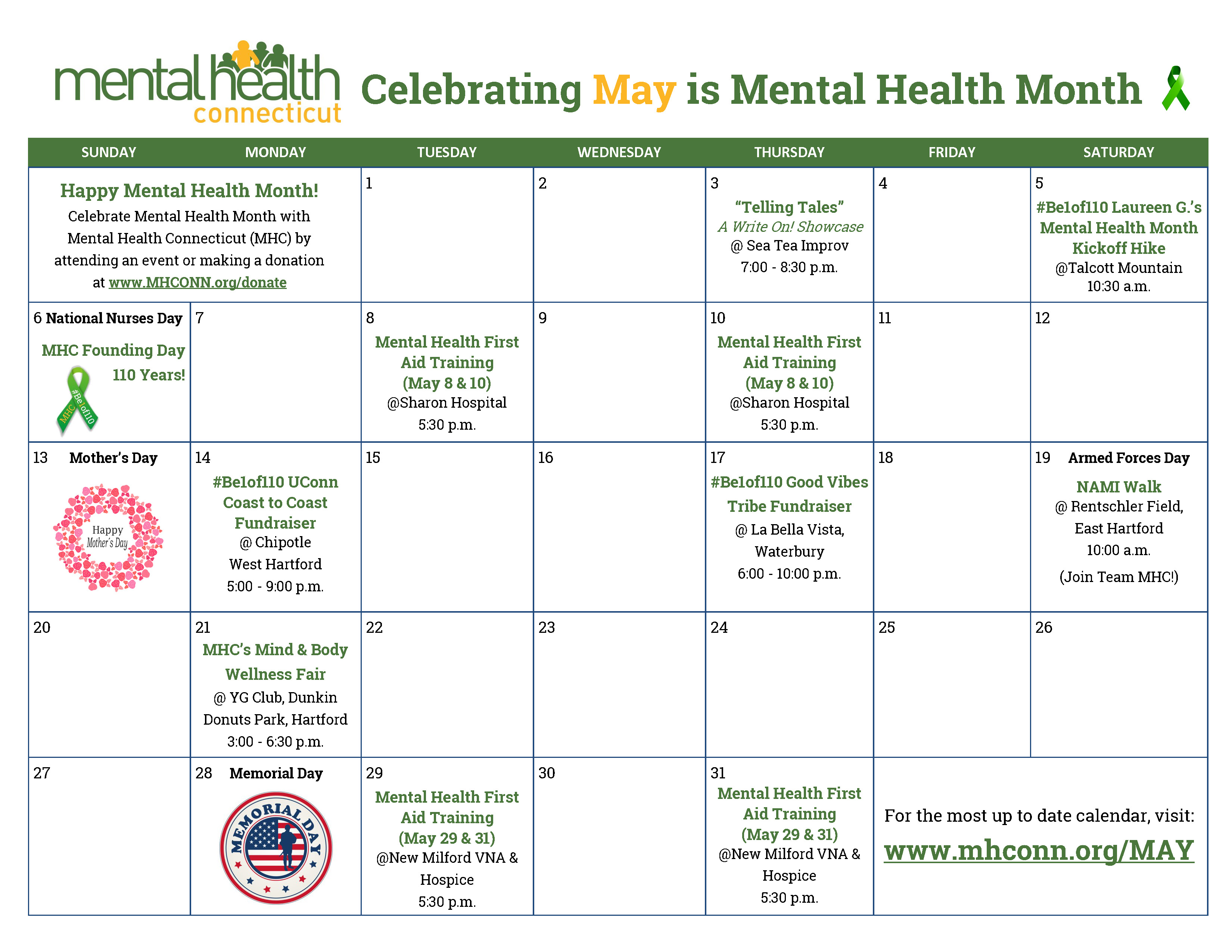 Mental Health Month Mental Health Connecticut