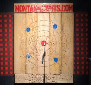 Chopping Down Stigma @ Montana Nights Axe Throwing